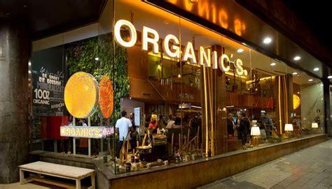 Organic's fast food restaurant in Barcelona
