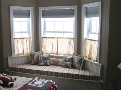 valance bay window bay window seat for comfortable seating area at home