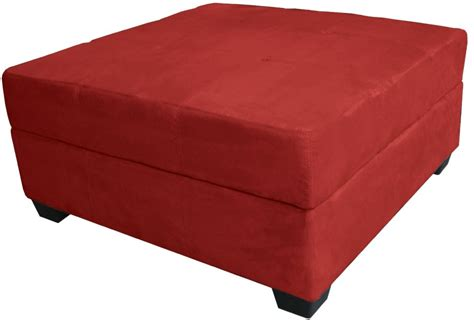 large square storage ottoman 5 best red ottoman add timeless elegant styling to your