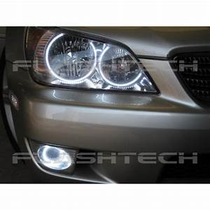 Lexus Is300 White Led Halo Fog Light Kit  2001