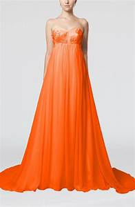 tangerine wedding dress cinderella outdoor empire With tangerine dresses for wedding