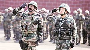 India, China to hold joint military exercise in Pune   The ...