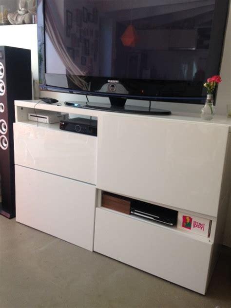 meuble tele sur mesure un meuble t 233 l 233 sur mesure 224 petit prix bidouilles ikea