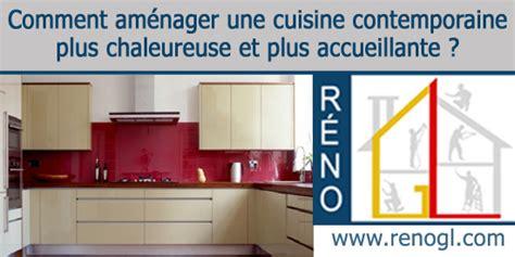 cuisine contemporaine r 233 novez une cuisine plus chaleureuse et accueillante