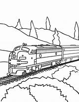 Train Coloring Bullet Printable Pages Speed Getcolorings Reliable sketch template