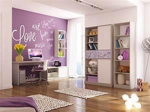 Zimmer Ideen Mädchen : kinderzimmer wandgestaltung 50 ideen mit farbe tapete ~ Lizthompson.info Haus und Dekorationen