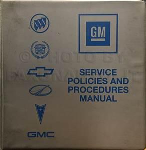 1998 Express And Savana Van Repair Shop Manual 4 Volume