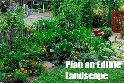 garden supply company plan an edible landscape the prepared page