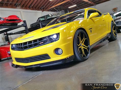 chevrolet camaro ss bumblebee san francisco sports cars