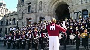 MIHS Marching Band Play Victoria Parliament Steps ...