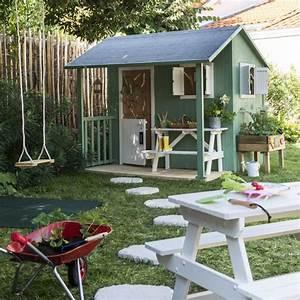 Cabane Exterieur Enfant : maisonnette bois blooma wakame en 2019 hut cabane bois ~ Melissatoandfro.com Idées de Décoration