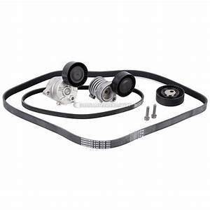 2004 Bmw 325i Serpentine Belt And Tensioner Kit With Mechanical Tensioner