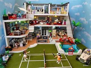 Art Deco House 5574 Emma J's Playmobil