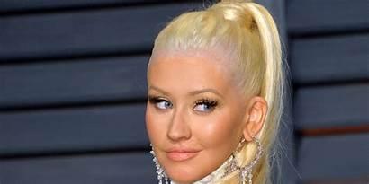 Aguilera Christina Brown Hair Nashville Role Huffpost