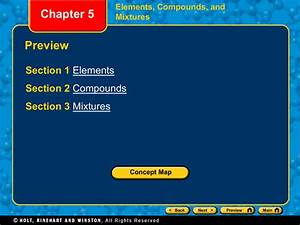 Holt Science And Technology Elements Compounds And