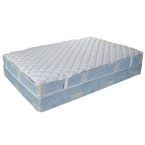hospital bed mattress topper js fiber 16 oz mattress topper w 2 quot anchor band hospital