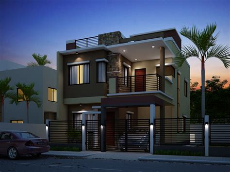 2 floor houses breathtaking storey residential house home design