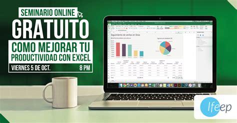 Inscripción seminario de Excel IFEEP Instituto de