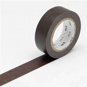 masking tape uni marron chocolat masking tape mt chez With exceptional couleur de peinture tendance 7 activites pour les enfants peinture avec le livre