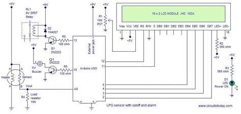 Lpg Sensor Using Arduino With Cut Off Alarm