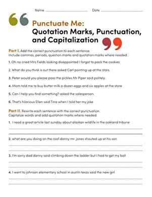 capitalization worksheets  grade newatvsinfo