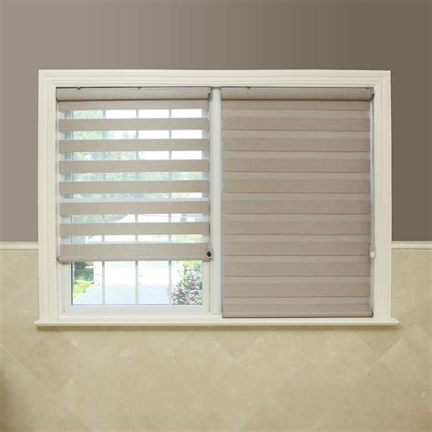 Blackout Window Blinds by Best Home Premium Fabric Coconut Sunshut Duo