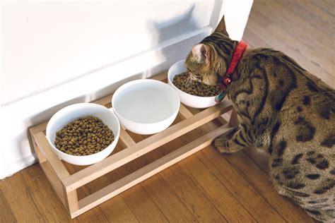 diy pet bowl stand cat dog bowl stand diy