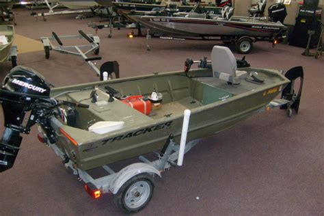 Tracker Boats Grizzly 1448 by 2008 Tracker Boats Grizzly 1448 Aw Jon For Sale In