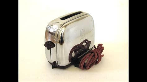 Single Slice Toaster by Antique Toastmaster Toaster 1a5 Demo Quot Automatic Pop Up