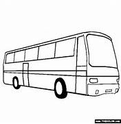 Bus Coloring Page   Free Bus Online Coloring  Bus Drawing