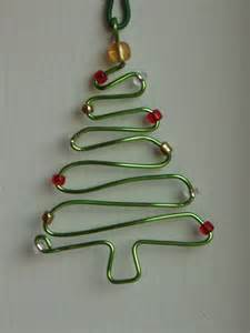 7 easy diy wire ornaments for christmas tree fashionornaments