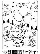 Quiver Eend Ente Malvorlage Stemmen sketch template