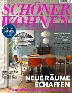 Schöner Wohnen Küchenfarbe : sch ner wohnen 04 2016 sch ner wohnen ~ Sanjose-hotels-ca.com Haus und Dekorationen