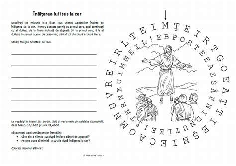 Fise de colorat cu Iisus Hristos, Praznice, Maica Domnului si Sfinti ~ Didactica Ortodoxa