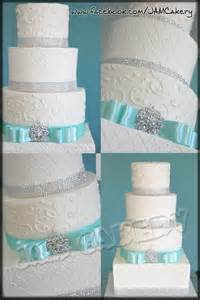 turquoise wedding cakes turquoise and sparkle j a m cakery
