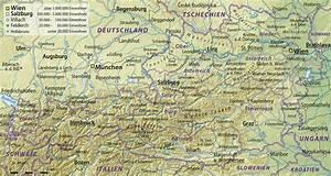Deutschland Physische Karte : oesterreich uebersichts weltatlas ~ Watch28wear.com Haus und Dekorationen
