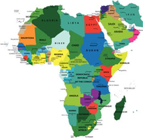 How Many Countries Are There In Africa