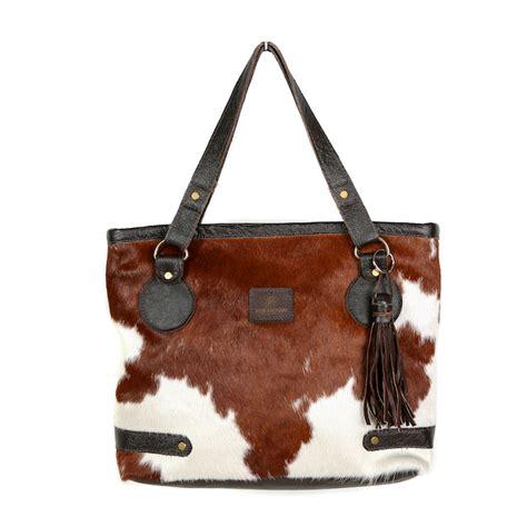 Cowhide Handbags by Cowhide Tote Handbags Zulucow