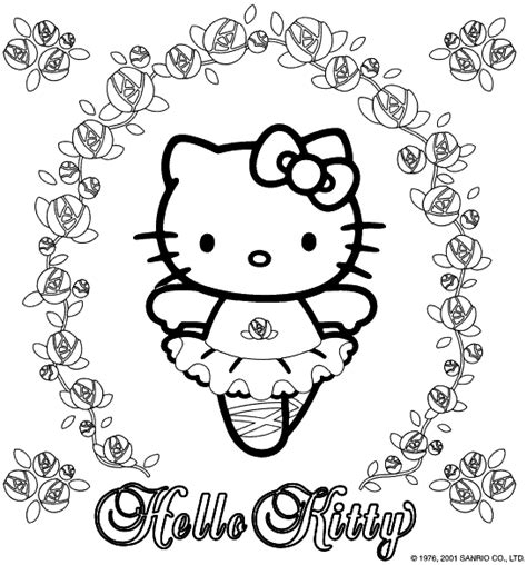 kitty christmas coloring pages images shopping