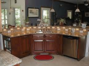 size of kitchen island with seating best 25 curved kitchen island ideas on