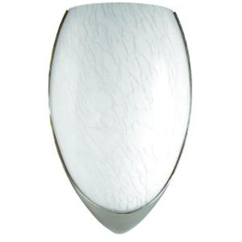 sylvania 1 light indoor brushed nickel led flush mount wall sconce light fixture 75280 0 the