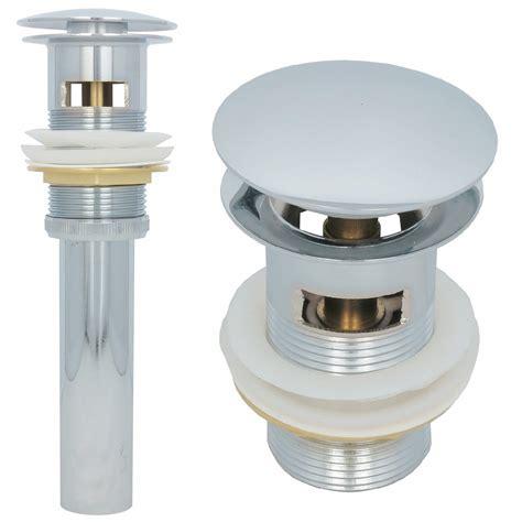 pop up ablaufgarnitur pop up waschtisch ablaufgarnitur ablaufventil abfluss ablauf push mit 220 berlauf ebay