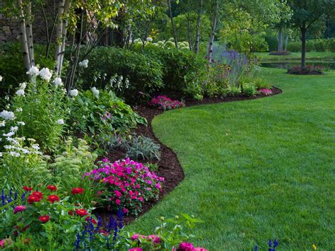 Garden Ideas by Best Garden Border Ideas Diy Network Made Remade