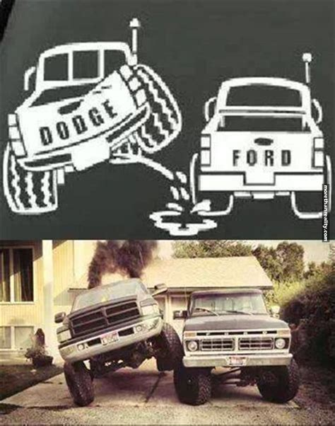 Funny Ford Truck Memes - dodge vs ford diesel life pinterest ford ford jokes and cars