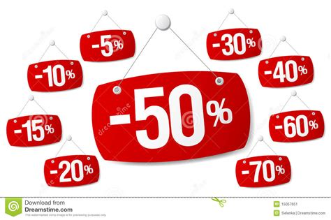 Signs For Discount Sale Stock Image - Image: 15057651