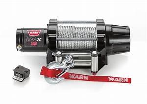 Polaris Ranger Vrx 4500 Lb Winch By Warn