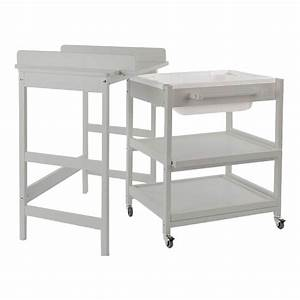 Table à Langer Bébé : table langer comfort smart baignoire gris clair quax univers b b smallable ~ Teatrodelosmanantiales.com Idées de Décoration