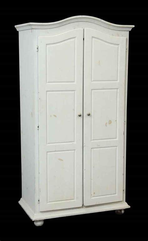 White Wooden Wardrobe by White Wooden Wardrobe Olde Things