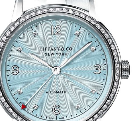 Tiffany - CT60 3-hand 34mm with ice-blue dial | Time and ...