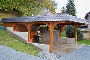 Holzbalken Für Carport : bau von carports aus holz ihre zimmerei aus neusalza ~ Articles-book.com Haus und Dekorationen